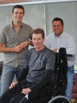 Kevin Schamuhn, Trevor & Rob Dolson - first meeting in 2008